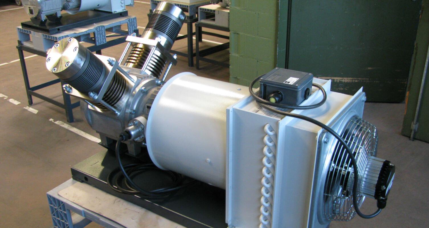 HAUG Kompressoren: Biogas / Biomethane compressor