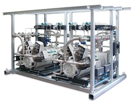 HAUG.Sirius nitrogen compressors - double construction, oil-free and gas-tight
