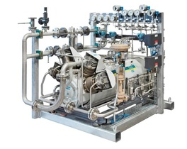 HAUG.Sirius compressor for oil-free and gas-tight compression of natural gas