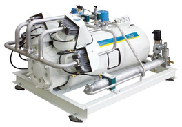 HAUG.Sirius compressor - water cooled, oil-free and gas-tight
